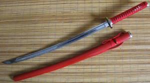 Red Katana Shinken