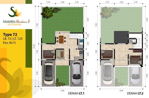 blueprint-72-120-samara-residence-4-semarang