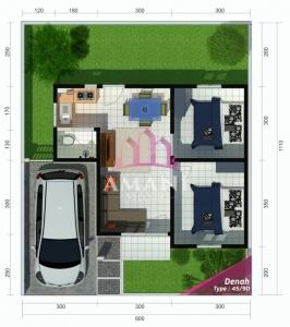 Blueprint Amani Village Bantul Yogyakarta