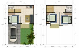 Blueprint Kavling Jannati Depok