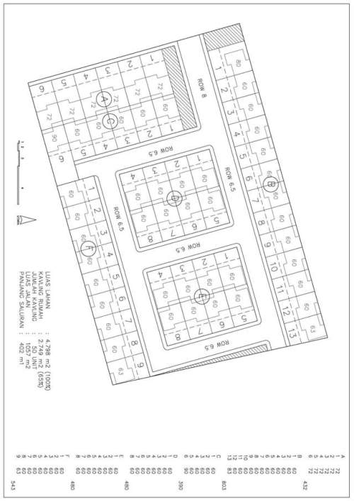 Blueprint Keseluruhan Rani Residence Pamulang Tangerang Selatang.jpg