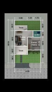 blueprint-type-27-60-kampung-islami-thoyibah-cibitung-bekasi