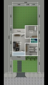 blueprint-type-42-96-kampung-islami-thoyibah-cibitung-bekasi