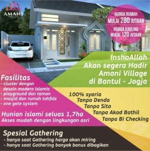 Brosur Amani Village Yogyakarta