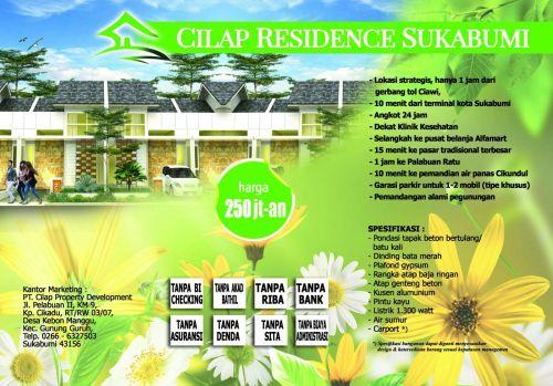 brosur-cilap-residence-sukabumi
