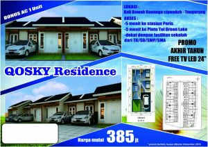Brosur Qosky Residences Tangerang