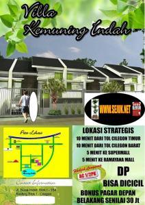 Brosur Villa Kemuning Indah Cilegon