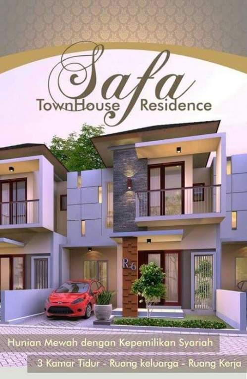Cover Safa Townhouse Residence Ciomas Bogor.jpg