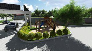 Desain Taman Puri Nirana Cigelam Purwakarta