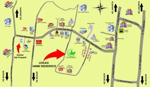 lokasi-ummi-residence