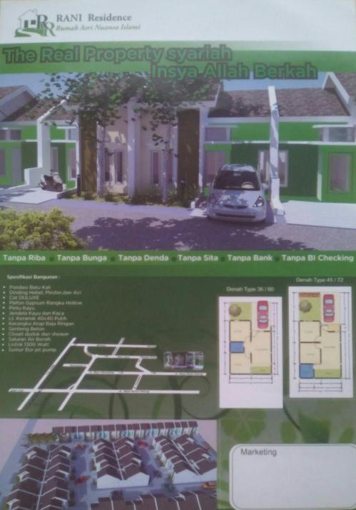 pamflet-rani-residence-pamulang-tangerang
