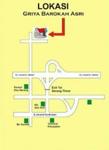 peta-lokasi-kavling-barokah-asri-kota-serang-banten