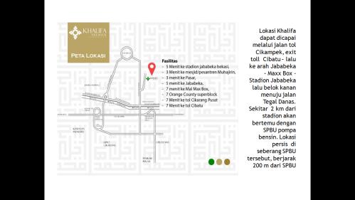peta-lokasi-khalifa-premier-residence-cikarang-bekasi