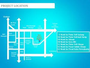 Peta Lokasi Puri Nirana Cigelam Purwakarta