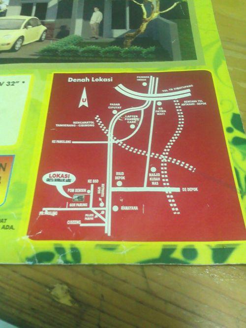 peta-lokasi-rabbani-residence-parung-bogor