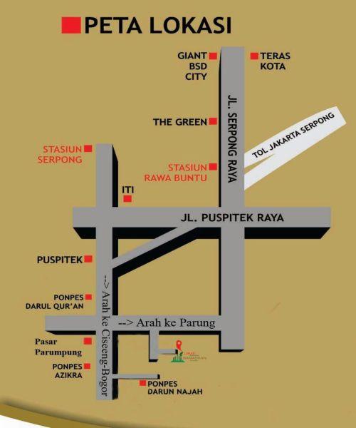 peta-lokasi-ramadhan-village-serpong-tangerang
