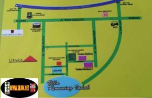 Peta Lokasi Villa Kemuning Indah Cilegon