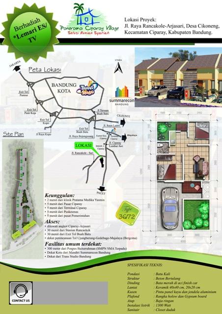 poster-peta-panorama-ciparay-village-bandung