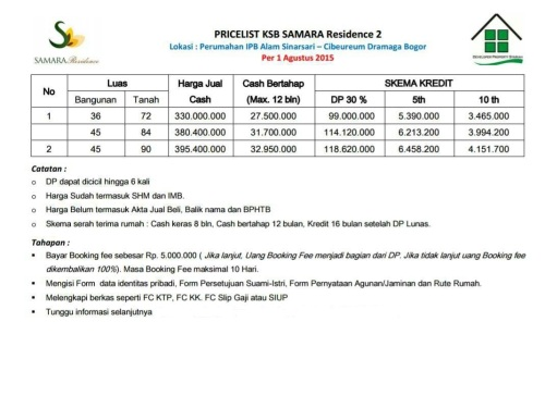 pricelist-samara-residence-2