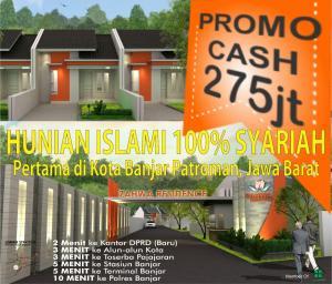 promo-cash-zahwa-residence-banjar-jawa-barat