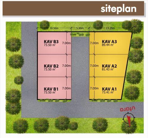 siteplan-alifia-residence-jatiasih-bekasi