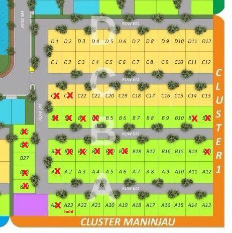 siteplan-cluster-maninjau-salma-lakeside-jakabaring-palembang