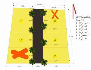 Siteplan Kavling Jannati Depok