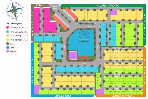 siteplan-keseluruhan-salma-lakeside-jakabaring-palembang