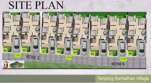 siteplan-ramadhan-village-serpong-tangerang