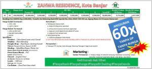 skema-harga-zahwa-residence-banjar-jawa-barat