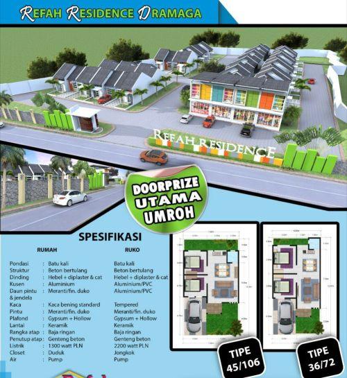 spesifikasi-refah-residence-ciapus-bogor