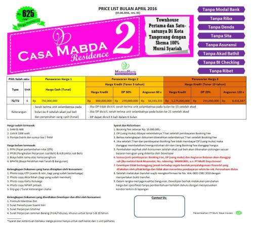 tabel-harga-casa-mabda-2-ciledug