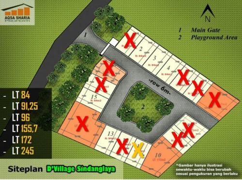 update-siteplan-dvillage-sindanglaya-bandung