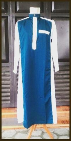 Grosir jubah biru